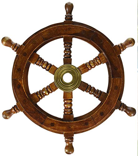 SAILORS SPECIAL SH 8760 Ship Wheel 12 inch 12
