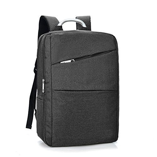 Jlyifan Premium Shock Proof Canvas Backpack Travel Bag for 14'' 15'' 15.4'' 15.6 inch laptops