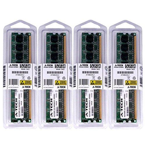 8GB KIT (4 x 2GB) For Cyber Power Pc CyberPower Black Pearl. DIMM DDR3 NON-ECC PC3-10600 1333MHz RAM Memory. Genuine A-Tech Brand.