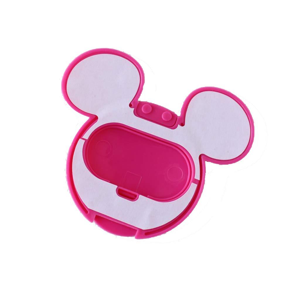 Ogquaton 1 ST/ÜCKE Baby Nasses Papier Deckel Feuchtt/ücher Abdeckung Nasses Gewebe Wiederverwendbarer Deckel Anti-Trocknung Anti-Umweltverschmutzung f/ür Kleinkinder Mickey Form