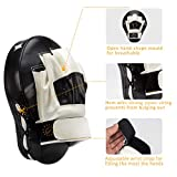 PAMASE Boxing Leather Punch Focus Mitts - Target