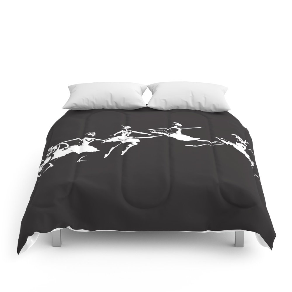 Society6 Dance Comforters Queen: 88'' x 88''