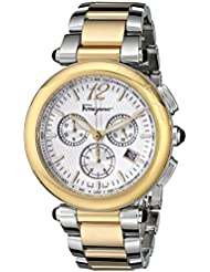 Salvatore Ferragamo Womens F77LCQ9502 S095 Idillio Gold Ion-Plated Stainless Steel Watch