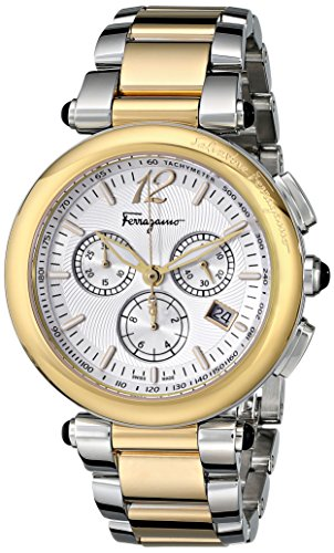 Salvatore-Ferragamo-Womens-F77LCQ9502-S095-Idillio-Gold-Ion-Plated-Stainless-Steel-Watch