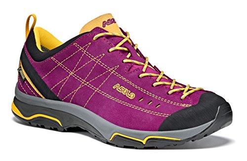 Asolo Nucleon Gv ml Zapatos, Mujer morado (verbena) / amarillo