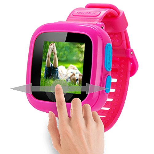 GBD Game Smart Watch Kids Children Boys Girls Gift Travel Camping Camera 1.5'' Touch 10 Games Pedometer Timer Alarm Clock Learning Toys Wrist Watch Bracelet Health Monitor Summer Vacation by GBD (Image #2)