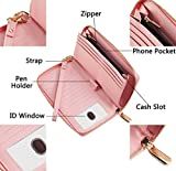 Chelmon Womens Wallet Leather RFID Blocking Purse