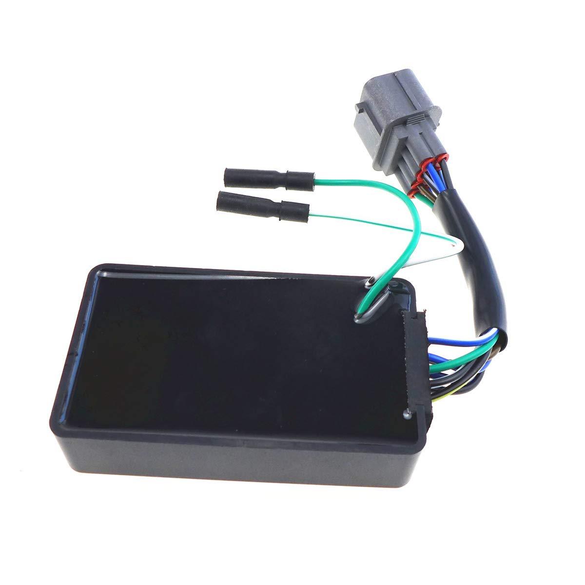 CDI Box for Honda Rancher TRX350FE TRX350FM TRX350TE TRX350TM 2000-2005 30410-HN5-671 30400-HN5-305 30410-HN4-671 30400-HN4-305 30410-HN4-670 30410-HN5-670 30405HN5303 ATV DC Ignition CDI Box