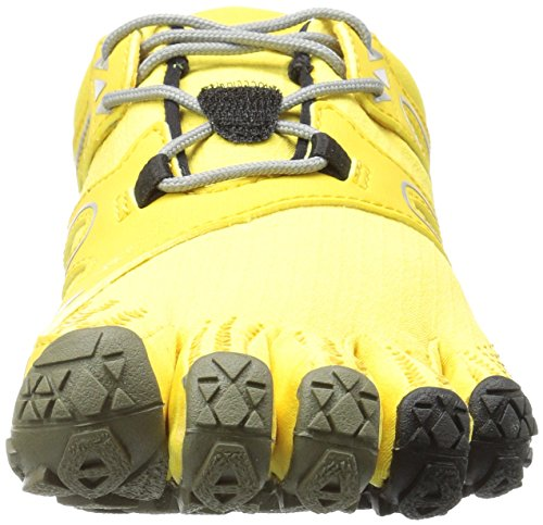 Vibram Women's V Trail Runner, Yellow/Black, 37 EU/6.5 M US by Vibram (Image #4)
