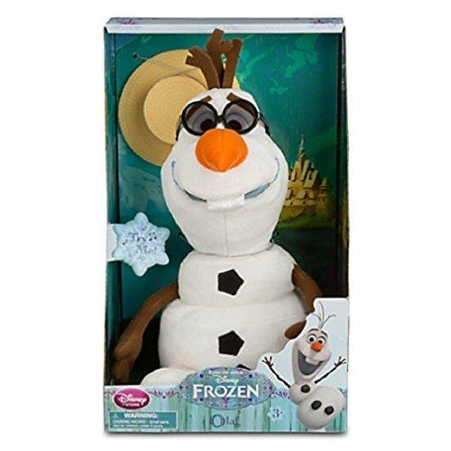 Disney Olaf Singing Plush - Frozen - Medium - 10 1/2'' (Talking Sven Plush)