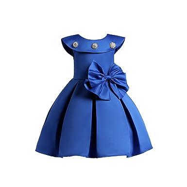 photos officielles plutôt cool amazon Vlunt Robe Fille Mode, Élégant Robes Habillé Cérémonie pour ...