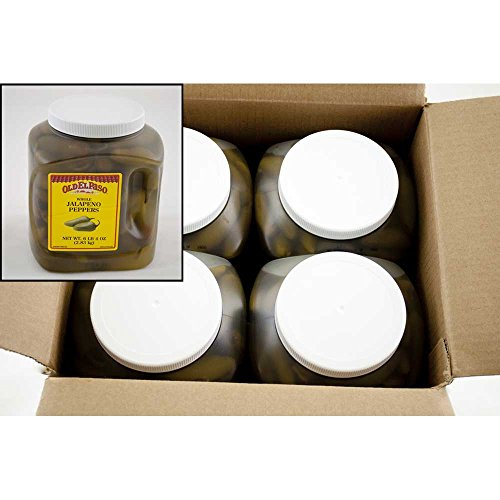 Whole Jalapenos (Old El Paso Whole Jalapeno Peppers - 100 oz. jug, 4 jugs per case)