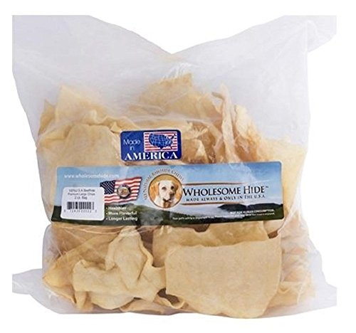 Wholesome Hide Pet Rawhide Treat Chips 2lb Bag by Wholesome Hide