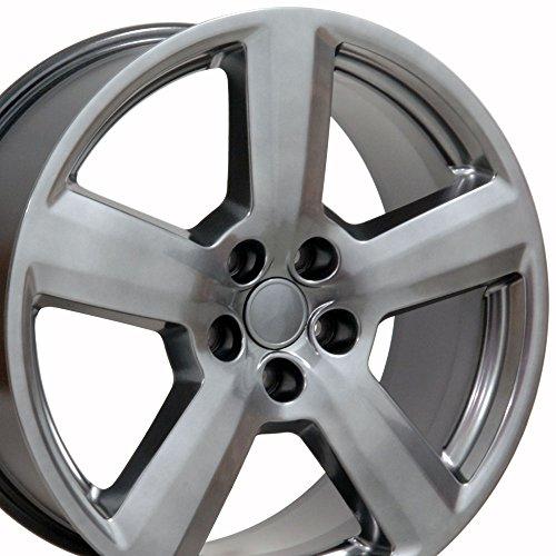 18x8 Wheel Fits Audi, Volkswagen - Audi RS6 Style Hyper Silver (Audi Wheels Rims)