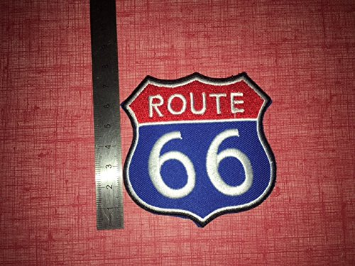 Stemma Toppe aufnaher toppa –  Route 66 –  thermocollant BLUE HAWAI