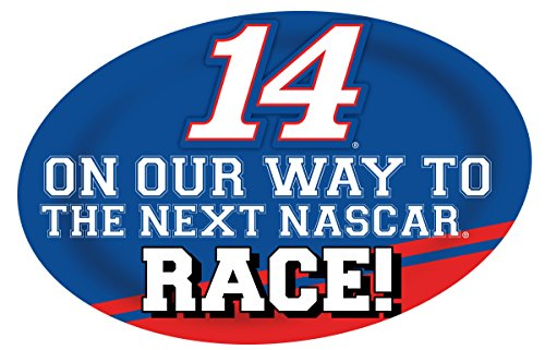 (NASCAR #14 Tony Stewart Jumbo Race Day Decal-NASCAR Peel & Stick Decal-NEW for 2016)