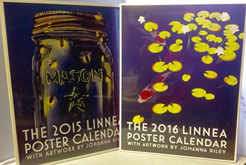 Linnea Poster Calendar 2015 & 2016 Bundle Art By Johanna Riley