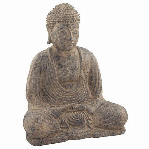 Small Antique Buddha Head - 4