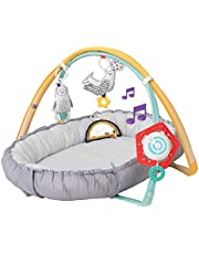 Taf Toys 4 in 1 Music and Light Thickly Padded Newborn Cozy Mat   Interactive Baby Mat. Baby's Activity and Entertainment Center, for Easier Development and Easier Parenting