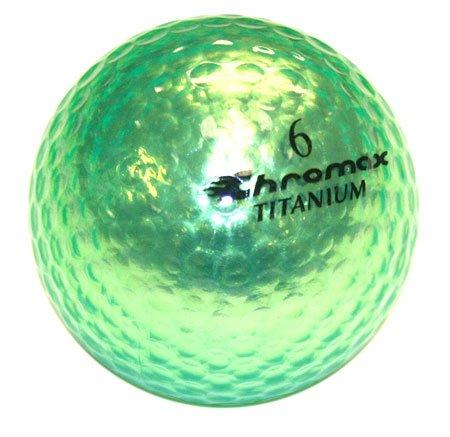 Golf Chromax M1 Golf Ball Green Shiny New   B008I5TC12