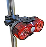 Uni-Com High Intensity Rear Cycle Light, Red