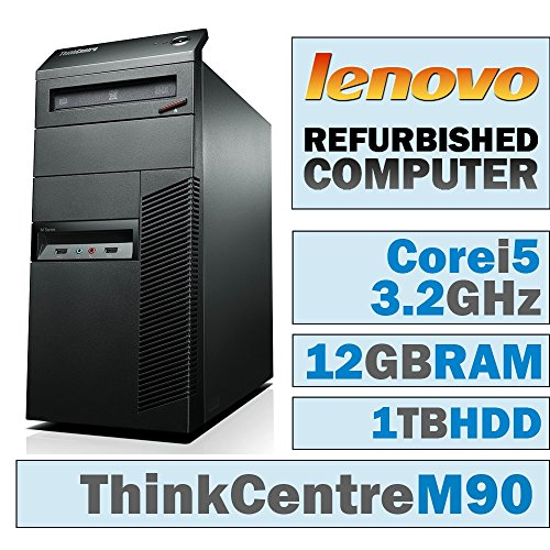 Lenovo ThinkCentre M90 MT/Core i5-650 @ 3.2 GHz/12GB DDR3/1TB HDD/DVD-RW/WINDOWS 10 HOME 64 BIT