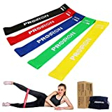 Cheap Resistance Loop Bands Exercise Bands Stretch Workout Fitness Bands Set of 5 for Yoga Pilates Physical Therapy Crossfit Rehab to Improve Mobility Strength Training