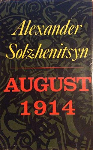 August 1914 by Alexander Solzhenitsyn