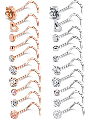 Tornito Stainless Labret Piercing Jewelry product image