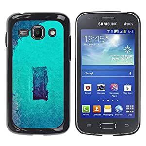 LASTONE PHONE CASE / Slim Protector Hard Shell Cover Case for Samsung Galaxy Ace 3 GT-S7270 GT-S7275 GT-S7272 / Cool Art Minimalist Abstract Marine Navy Aqua