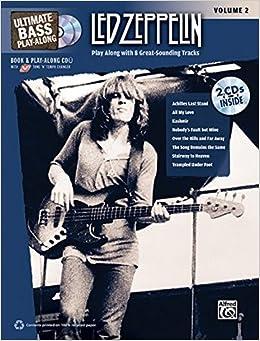 Led Zeppelin: Ultimate Bass Play-along: 2 Ultimate Play-Along ...