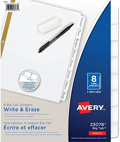 Avery Binder Dividers - 4