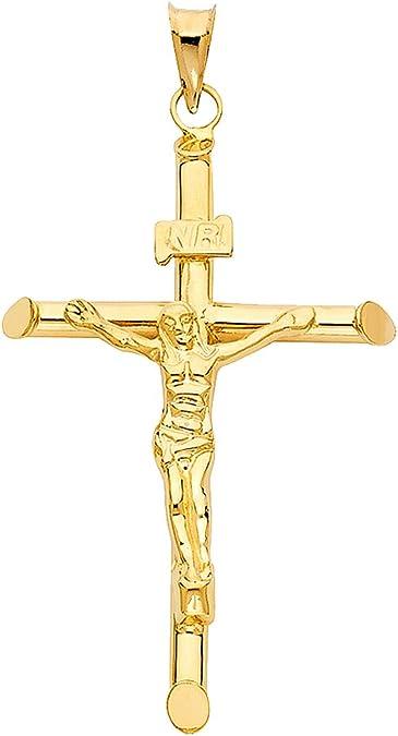 Croix custom handmade 14-karat gold cross bracelet