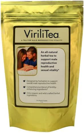 ViriliTea - Fertility Tea for Men for Male Reproductive Health