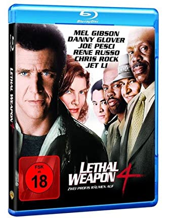 Amazon Com Lethal Weapon 4 1998 Blu Ray Danny Glover Joe Pesci Mel Gibson Rene Russo Chris Rock Richard Donner Joel Silver Movies Tv