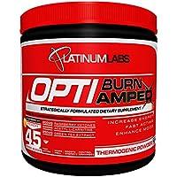 Platinum Labs Optiburn Amped, Australian Summer Flavour - 45 Servings (340g) (Package May Vary)