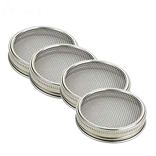 Allegro Huyer Wide Mouth Quart Mason Jars 4pcs/Set for sale  Delivered anywhere in Canada
