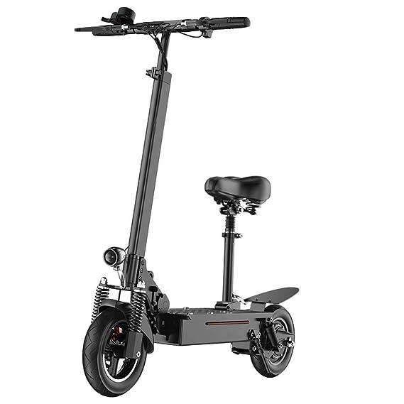 Amazon.com: DBSCD Scooter eléctrico con sistema de plegado ...