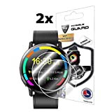 for LEMFO LEMX SmartWatch Screen Protector (2 Units) Invisible Ultra HD Clear Film