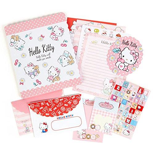 Sanrio Hello Kitty volume Letter Set From Japan (Nerd Costume Ideas For Girls)