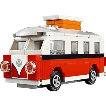 Amazon.com: Lego Creator Volkswagen Camper Van 40079 Polybag 76 ...