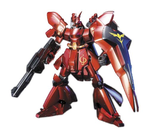 Gundam MSN-04 SAZABI Metallic Coating Version HGUC 1/144 Scale