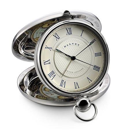 Dalvey Grand Odyssey Stainless Clock by Dalvey (Image #1)