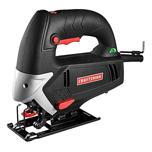 Craftsman Jigsaw - Craftsman 9-2190 5.0 Amp Jig Saw | Variable Speed | 3 Position | Guaranteed | Dual Beveling | Tool-Less Blade Change | Blades | Hex Key | 1 1/4 Vac Adapter | Wood & Metal
