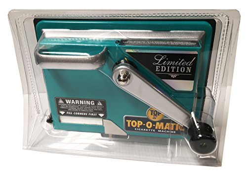 Top-O-Matic Limited Color Edition Cigarette Machine (Fits Kingsize and 100mm) - Color Chosen at Random