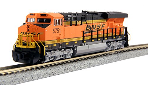 "Kato USA Model Train Products N GE ES44AC ""Gevo"" BNSF Locomotive #5751 Train"