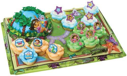 Dora Cupcake Platter -