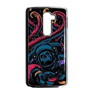 Colorful tails skull Phone Case for LG G2