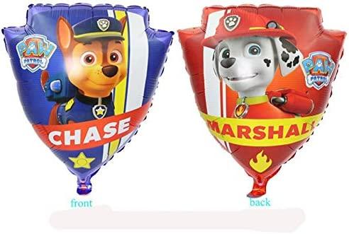 ZJWDM 1Pcs Paw Patrol Balloon Party Room Dcorations Figura ...
