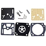 Savior RB-101 Carburetor Carb Rebuild Kit for Sachs Dolmar PS630 PS6400 PS7300 PS7900 Chainsaw with Zama C3M-DM11 C3M-DM12 Series Carb